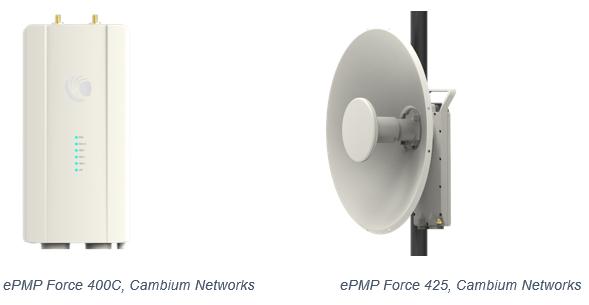 Cambium Networks launcht ePMP Force 400: neue Outdoor-Punkt-zu-Punkt-Lösung mit Gigabit-Geschwindigkeit verwendet WiFi6-Standard