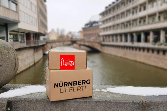 Nürnberger Einzelhandel startet gemeinsamen Lieferservice